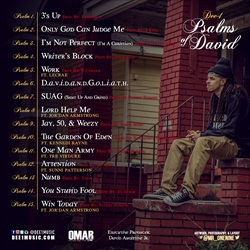 Dee-1 Psalms of David Back Cover