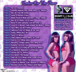 DJ DeMoe D & DJ Moeskiena Ladies On The Floor Back Cover