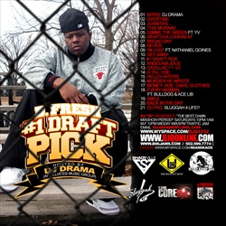 DJ Drama & D. Fresh #1 Draft Pick Back Cover
