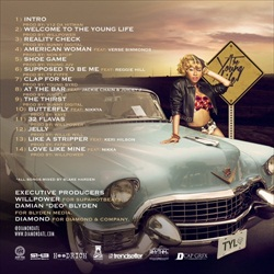 Diamond The Young Life Back Cover