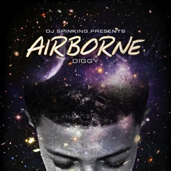 DJ Spinking & Diggy Simmons AirBorne Front Cover