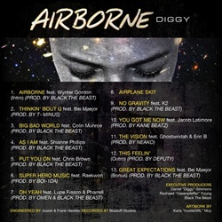 DJ Spinking & Diggy Simmons AirBorne Back Cover