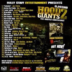DJ4Sho Hood Giants 2 Back Cover