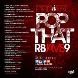 DJ Amanda Blaze Pop That R&B Jams 9 Back Cover