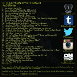 DJ Dub & Yasiin Bey Re:DEFinition Back Cover