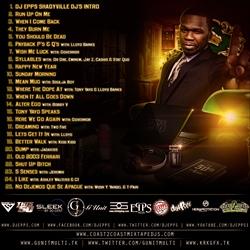 DJ Epps & 50 Cent I'm Still Number One Back Cover