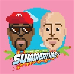 DJ Jazzy Jeff & MICK Summertime 6 Front Cover