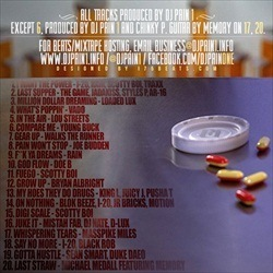 DJ Pain 1 Painkillerz 3 Back Cover