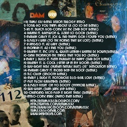 DJ Triple Exe The Passion of R&B 80 Back Cover