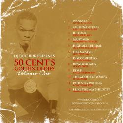 Doc Rock 50 Cent's Golden Oldies Vol. 1 Back Cover