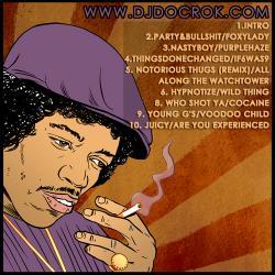 DJ Doc Rok The Biggie Hendrix Experience Back Cover