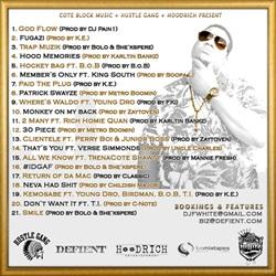 DJ Scream & Doe B Baby Jesus Back Cover