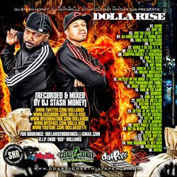 Dolla Rise The Freestyles Pt. 1 Back Cover