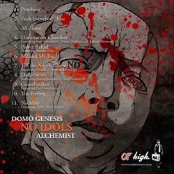 Domo Genesis & Alchemist No Idols Back Cover