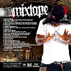 DJ Cannon & Mack Maine This Is Just A Mixtape Back Cover