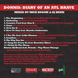 10.Deep & Donnis Diary Of An Atlanta Brave Back Cover