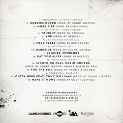 Clinton Sparks, DJ Ill Will, Rockstar & Donnis Fashionably Late Back Cover
