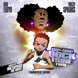 Dub Floyd Hip-Hop Docktrine Two Disc 2 'The Official Boondocks Mixtape' Front Cover