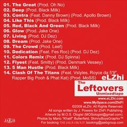 eLZhi The Leftovers Back Cover