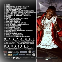 Wizkid Eastwood 'Loyalty or Nuthin' Back Cover
