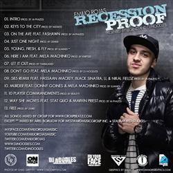 DJ Noodles & Emilio Rojas Recession Proof Back Cover
