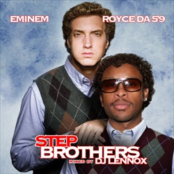 Eminem & Royce Da 5'9 Step Brothers Front Cover