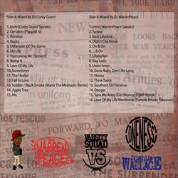 DJ WarrenPEACE & DJ Corey Grand Erykah Badu - Greatest Vibes Back Cover