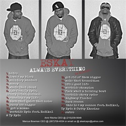 EsKay Always Everything Back Cover