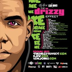 DJ EV & Drake The Drizzy Effect Back Cover