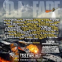 DJ Fade Swizz Beatz The Monster Back Cover