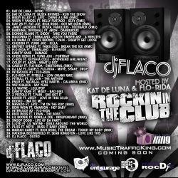 DJ Flaco Rockin In The Club Back Cover