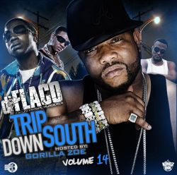DJ Flaco Trip Down South Vol. 14 Front Cover