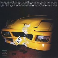 Frank Ocean nostalgia,ULTRA (Deluxe Edition) Back Cover