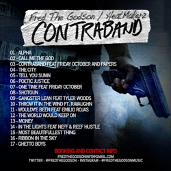 Fred The Godson Contraband Back Cover