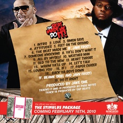 DJ Cannon & Freeway The Beat Made Be Do It Back Cover