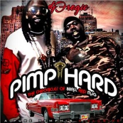 DJ Frogie Pimp Hard 'The Chronicles Of 8Ball & MJG' Front Cover