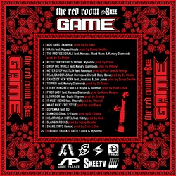 The Game & DJ Skee The R.E.D. Room Back Cover