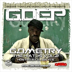 G. Dep G.ometry 'The Hiatus Vol. 2' Front Cover