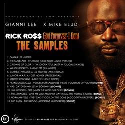 Gianni Lee & Mike Blud God Forgives, I Don't (The Samples) Back Cover