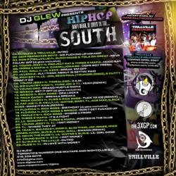 DJ Glew Hip Hop Ain't Dead, It Lives In The...South Back Cover