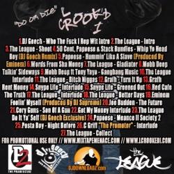 DJ Gooch L Crooked I's Finest Back Cover