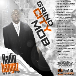 Grind City Mob Radio Bangaz Vol. 4 Front Cover