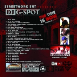 Streetwork Ent & DJ G-Spot The Time Is Now Back Cover