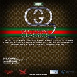 Greg Street & Gucci Mane Gucci Classics 2 Back Cover