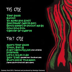 Gummy Soul, A Tribe Called Quest & The Pharcyde A Quest To The Pharcyde Back Cover