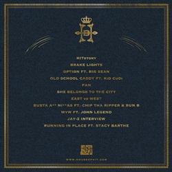 Hit-Boy HITstory Back Cover