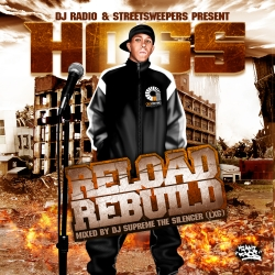 DJ Radio & Streetsweepers Reload Rebuild Mixtape Front Cover