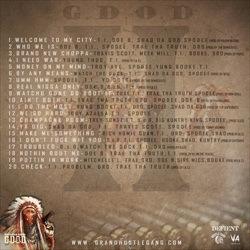 Hustle Gang G.D.O.D. (Get Dough Or Die) 2 Back Cover