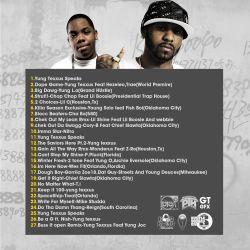Hustle Squad DJs Got Drama Vol. 6 Back Cover