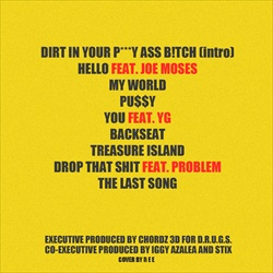 Iggy Azalea Ignorant Art Back Cover